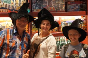 Harry Potter Hats at FAO Schwarz