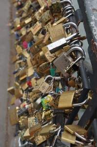 Amazing lock photos in Paris!
