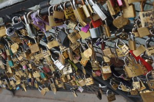 Love Locks of Paris