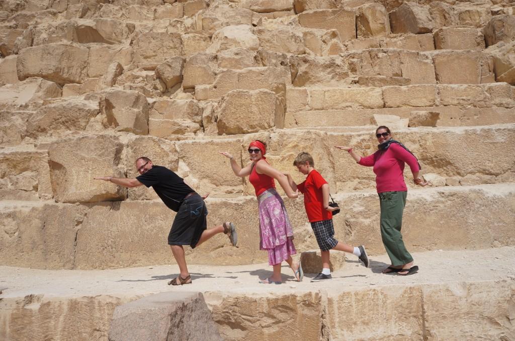 Walk like an Egyptian - In Egypt!