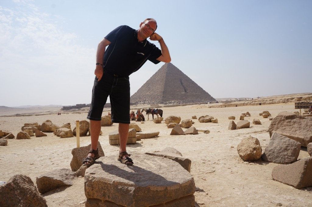 Pyramid arm rest