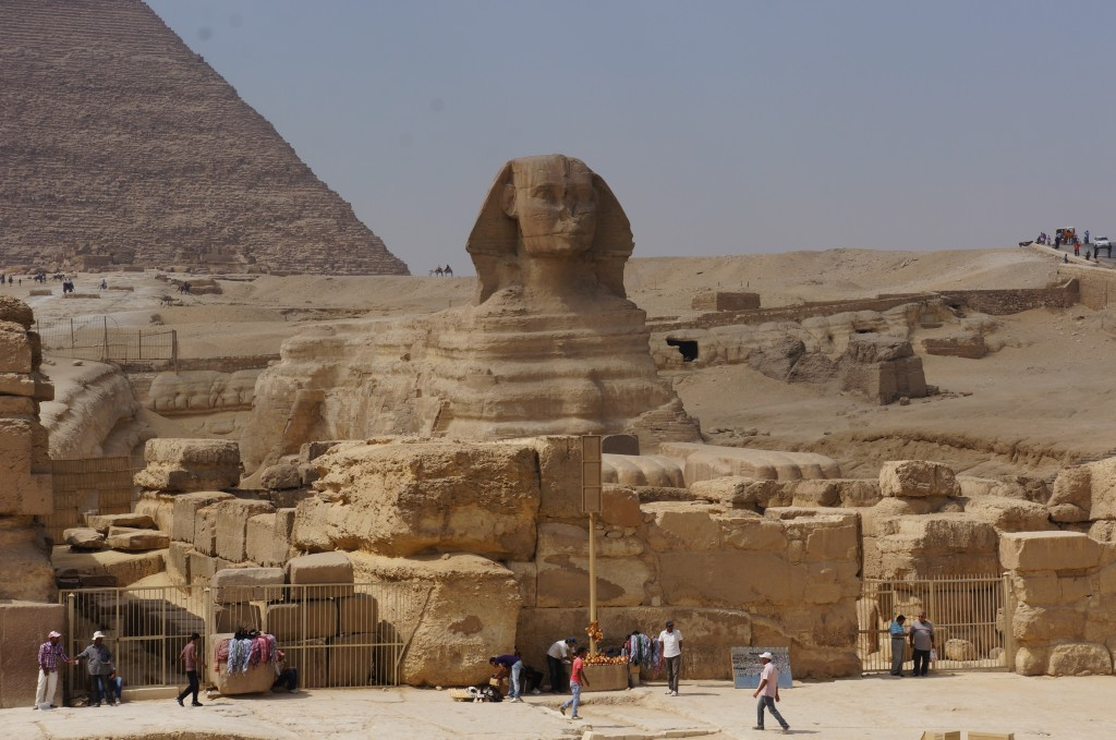 The Sphrinx, Giza.