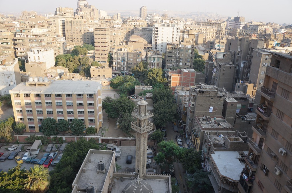 Dirty Rooftops in Cairo