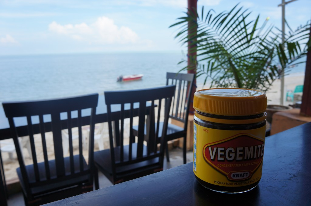 Vegemite for breakfast in Penang!