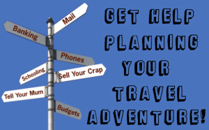 Travel Planning Sidebar