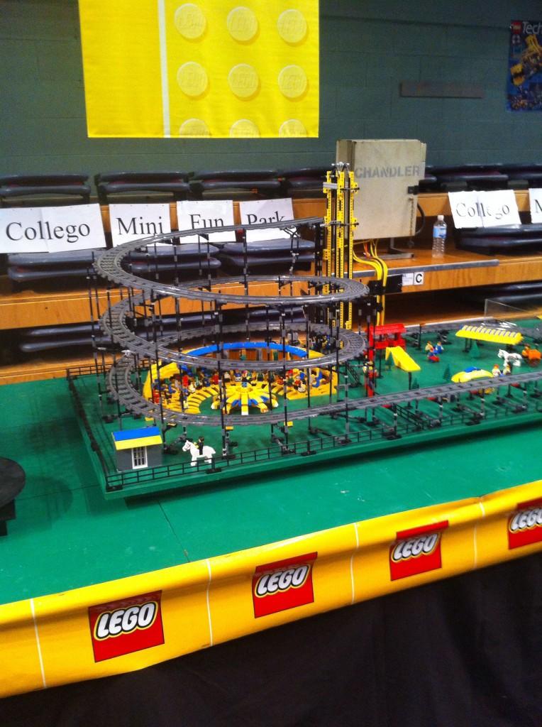 Lego Roller Coaster Model